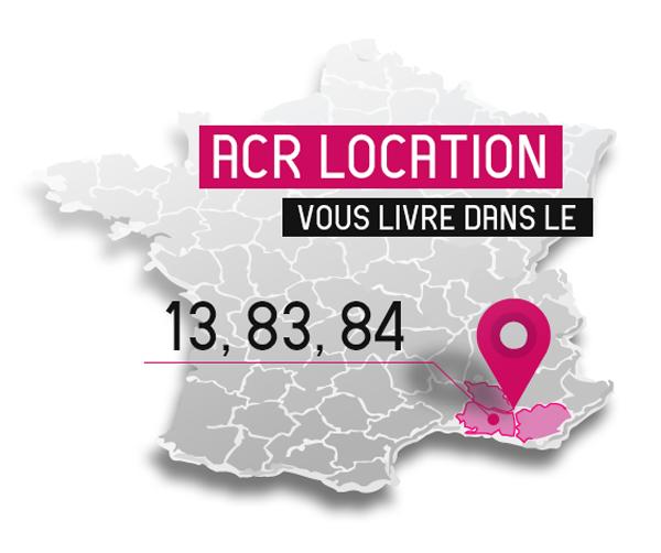 Louez votre matériel de réception dans le Vaucluse, les Bouches du Rhône et le Var