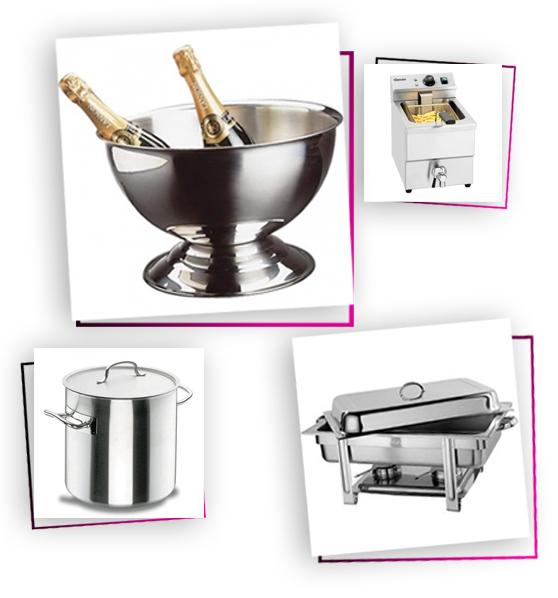 Location de mat riel pour r ception traiteur mariage - Location materiel cuisine professionnel ...