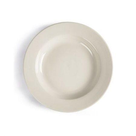 Location assiette plate à bords large 27 cm