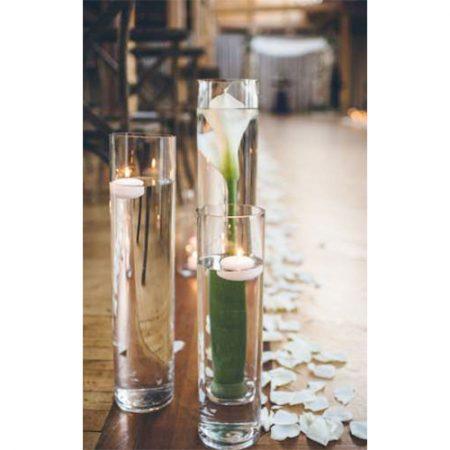 Photophore vase tube deco