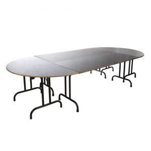 Location table d'honneur ovale 12/14 personnes